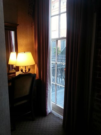 Place d'Armes Hotel : Balcony room