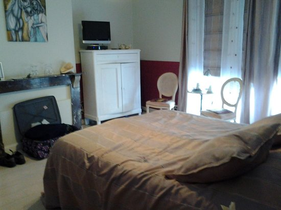 Bed & Breakfast Gallery Yasmine: onze prachtige kamer