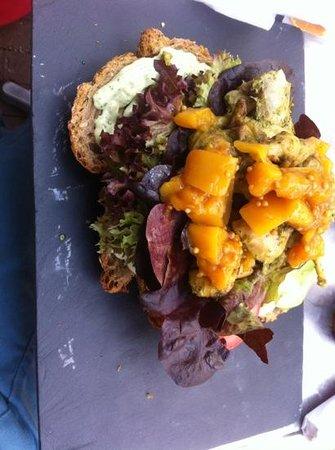 Letting: sandwich indiase kip