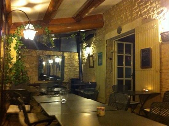 Le Clos de Gustave: il portico esterno