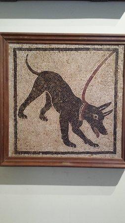 Musée archéologique national de Naples : Cave canem da Pompei