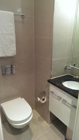 The Villa Kensington: Bathroom toilet & sink