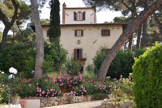 Relais Villa Petrischio : Villa vista dal parco