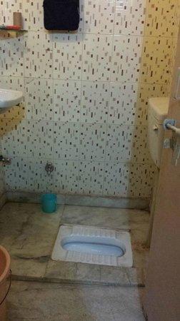 Pyrenees Homestay: Awful bathroom