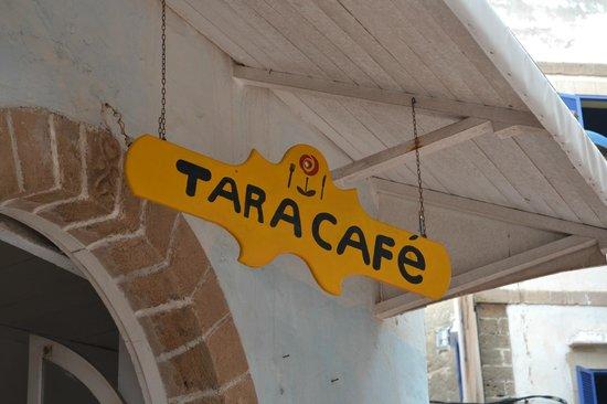 Tara Café : insegna