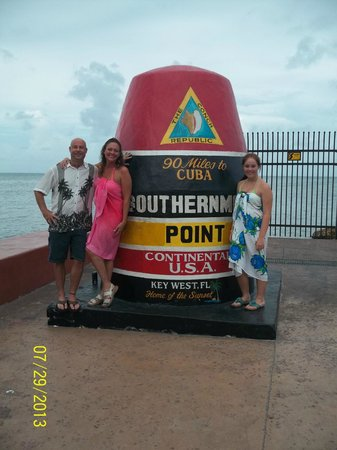 Pegasus International Hotel: Southern most part of the U.S.A.