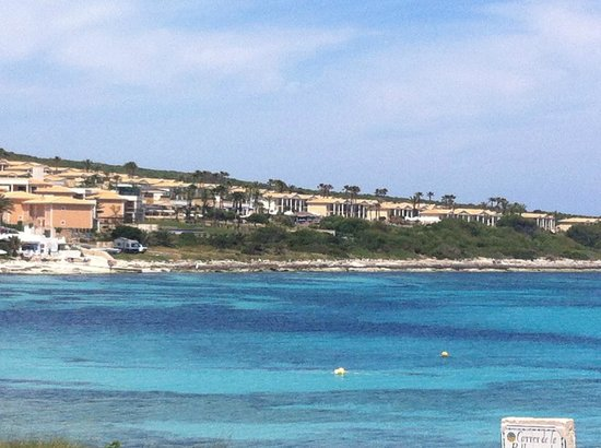Insotel Punta Prima Resort & Spa: view of the resort from just beyond the beach