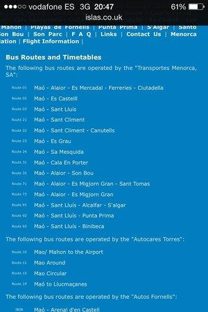 Insotel Punta Prima Resort & Spa: buses