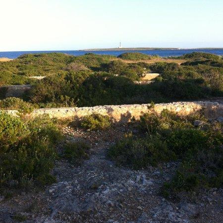 Insotel Punta Prima Resort & Spa: start of coastal walk