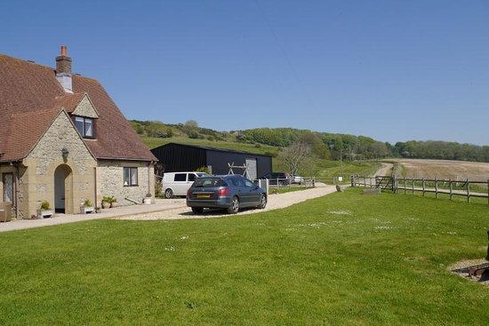 Hermitage Court Farm: Quiet, rural location