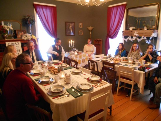 Amanda's Bequest - A Heritage Immersion Bed & Breakfast: decorated just for us
