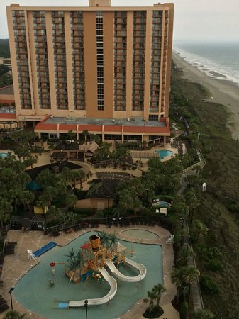 Embassy Suites by Hilton Myrtle Beach-Oceanfront Resort: Childrens water park on the property