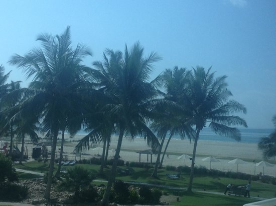 Hilton Salalah: View from room