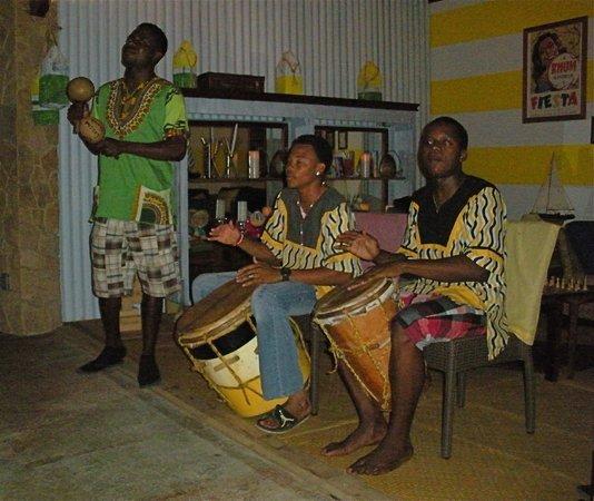 Hopkins Bay Resort: the Garifuna Drummers