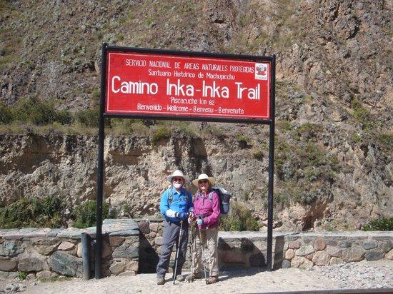 Camino Inca: Here we go...!