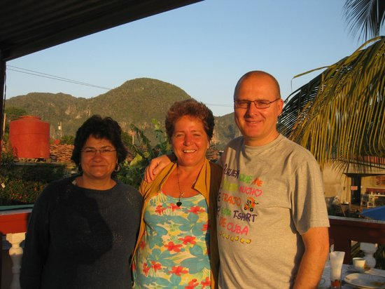 Villa Jorge y Ana Luisa: Con Ana Luisa, desde la terraza
