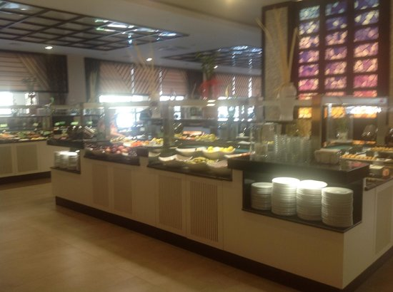 Paloma Oceana Resort: Speisesaal im Haupthaus, ist nur im Winter geöffnet!