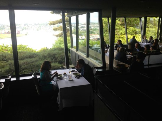 Canlis Restaurant : The view