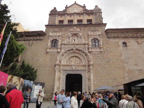 Museo de Santa Cruz: Fachada