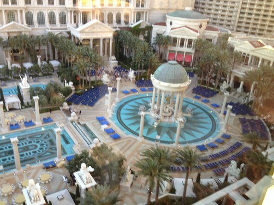 Caesars Palace: View from room #1