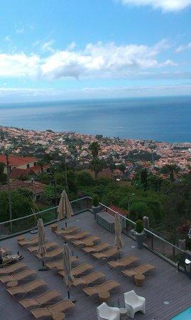 Quinta Mirabela: vue de la terrasse