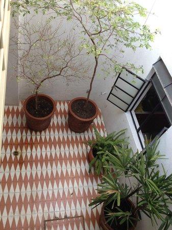 LA FE Hotel and Arts: Patio