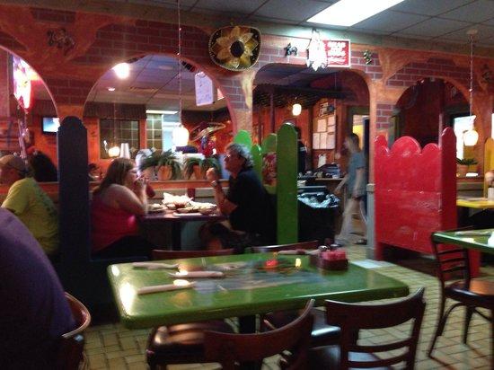 El Tapatio Cafe: Cosy atmosphere.