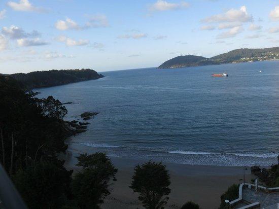 Hotel Thalasso Cantabrico Sirenas: Vista do terraço/esplanada