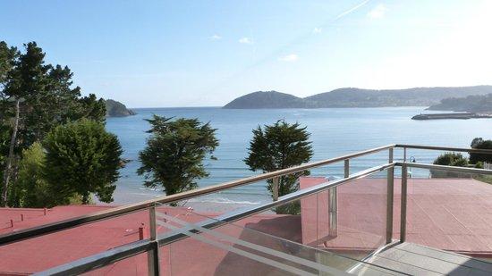 Hotel Thalasso Cantabrico Sirenas: Vista do quarto