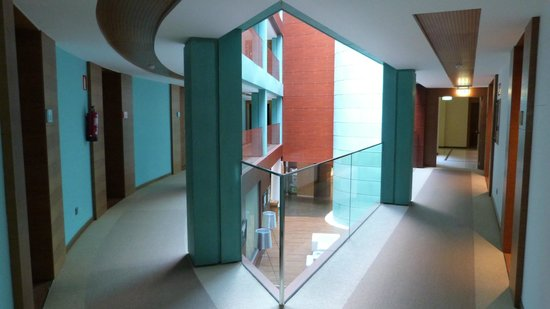 Hotel Thalasso Cantabrico Sirenas: Corredores