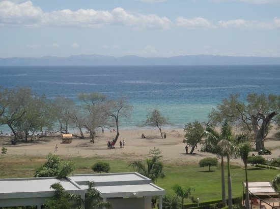 Hotel Riu Palace Costa Rica: view of beach from 3rd floor