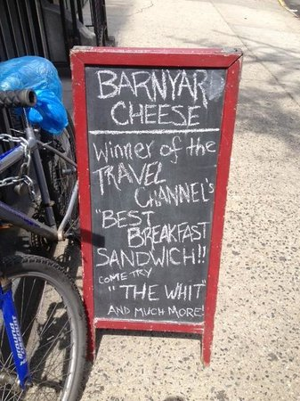 Barnyard Cheese Shop Signage