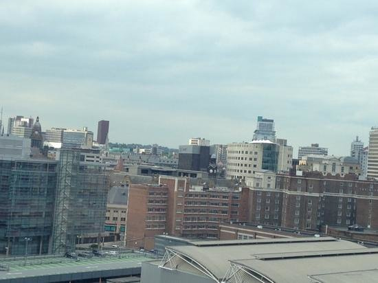Doubletree by Hilton Hotel Leeds City Centre : View from rooftop bar