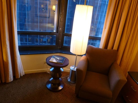 New York Hilton Midtown: Sitting area