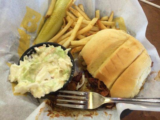 Buffalo Wild Wings: Barbeque Shredded Pork - Yummy