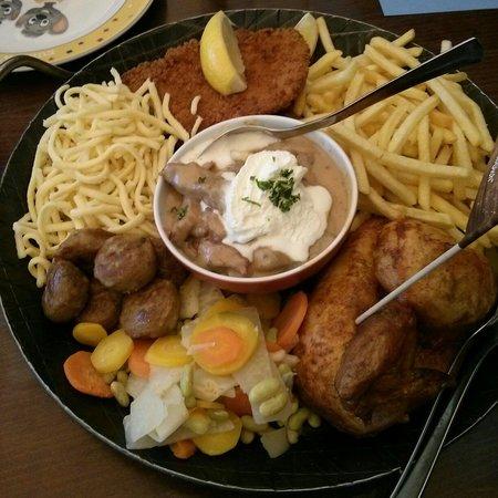 See-Restaurant am Europa-Park : Familien pfanne