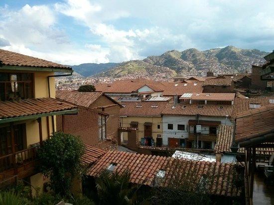 Amaru Hostal: View from Amaru