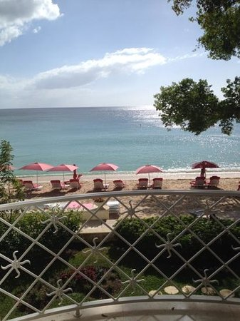 Sandy Lane Hotel: view from room