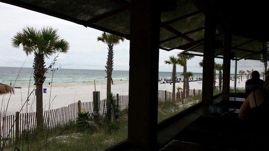 Spinnaker Beach Club: Table view