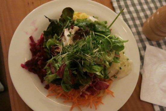 Harlachinger Jagdschlossl: toller Salat!
