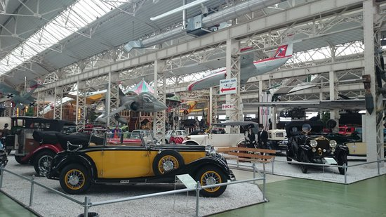Technik-Museum Speyer: First hanger full of 20th century cars