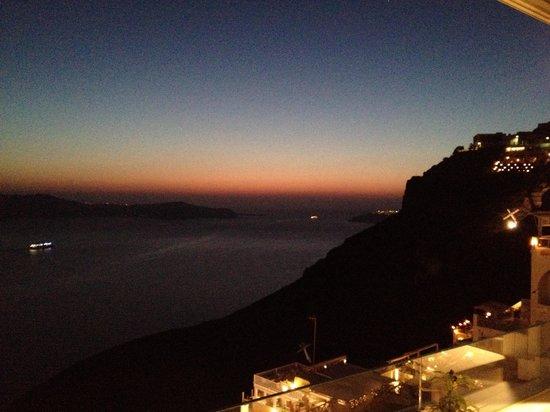 Sunrise at Nectarios Villa