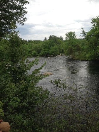 View of Contoocook River from Henniker House
