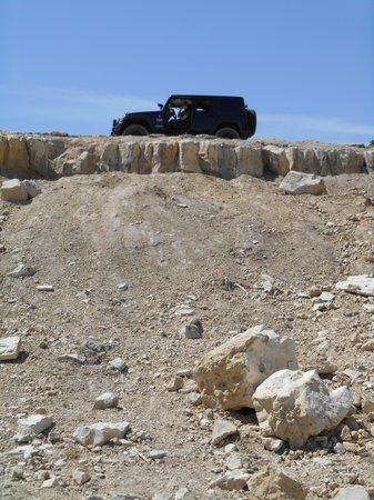 Hidden Falls Adventure Park : Jeep