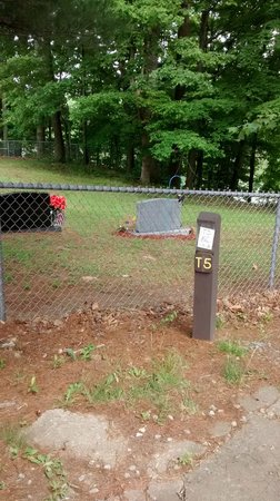 Stonewall Resort: Our site marker