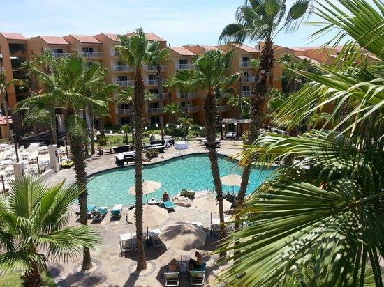 Villa del Palmar Beach Resort & Spa Los Cabos: View from building 3 5 th floor