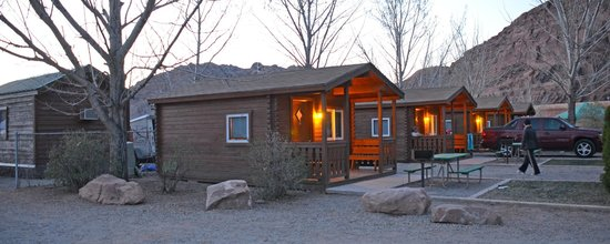 Moab Valley RV Resort & Campground: Our Basic Cabin
