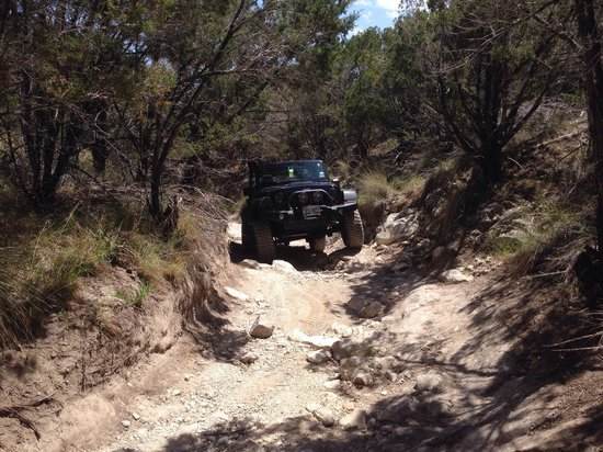 Hidden Falls Adventure Park : Bronco Buster wasn't too tough, just a little narrow and parts were tippy.