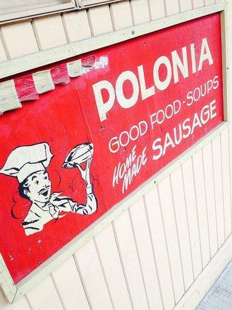 Polonia Polish Restaurant: Polonia sign
