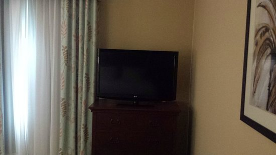 Hampton Inn New Smyrna Beach: Large HDTV